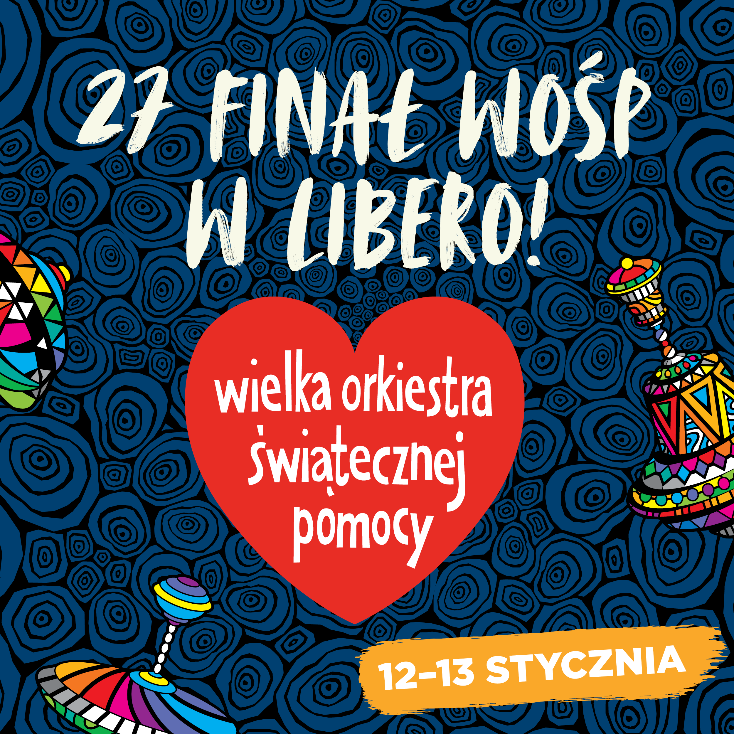 Libero will play with the WOŚP Orchestra. Not once, but twice!