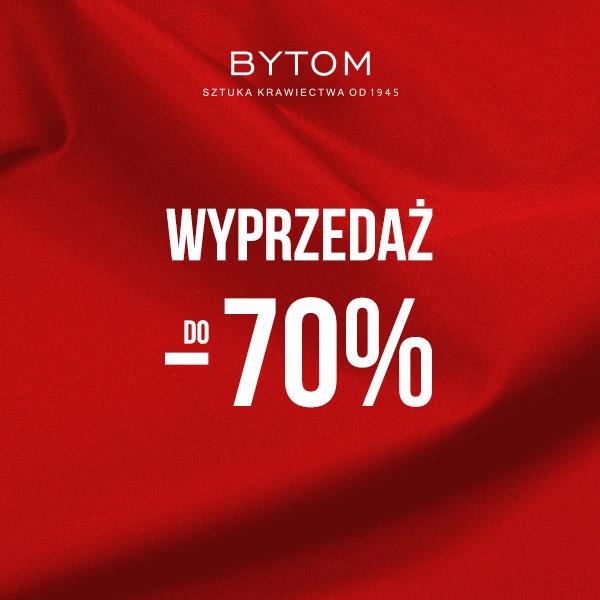 Wyprzedaż do-70% wsalonie Bytom!