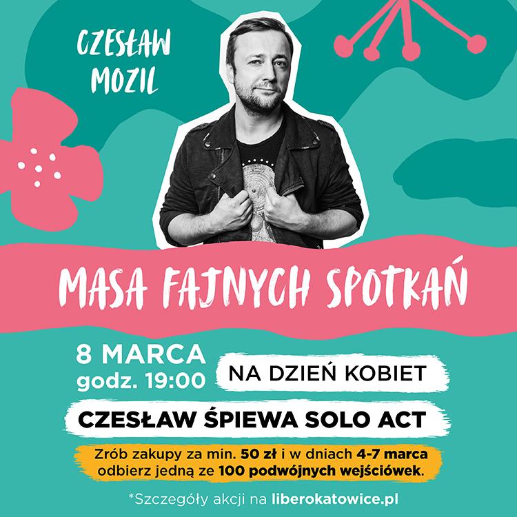 Czesław Sings Solo Act on Women's Day