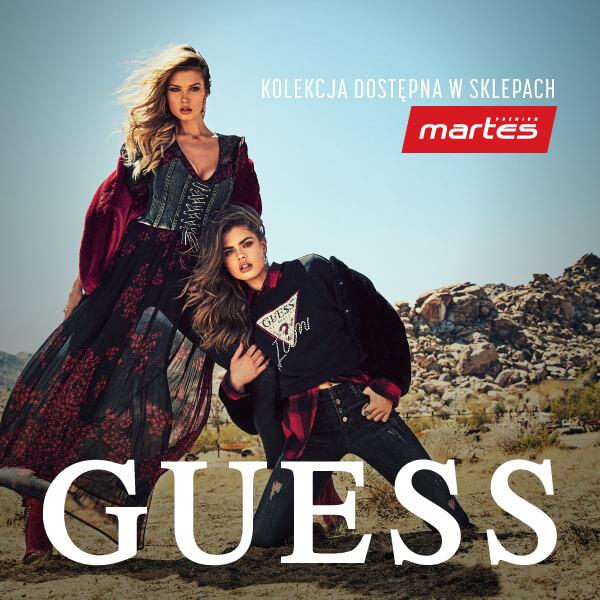 Marka GUESS dostępna wMartes Sport Premium