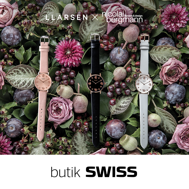 New collection of Llarsen brand in SWISS