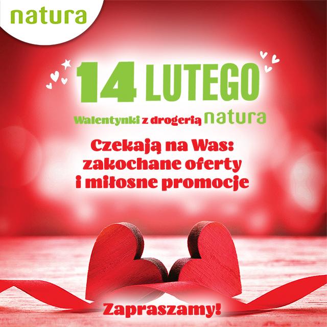 Walentynki wDrogeriach Natura
