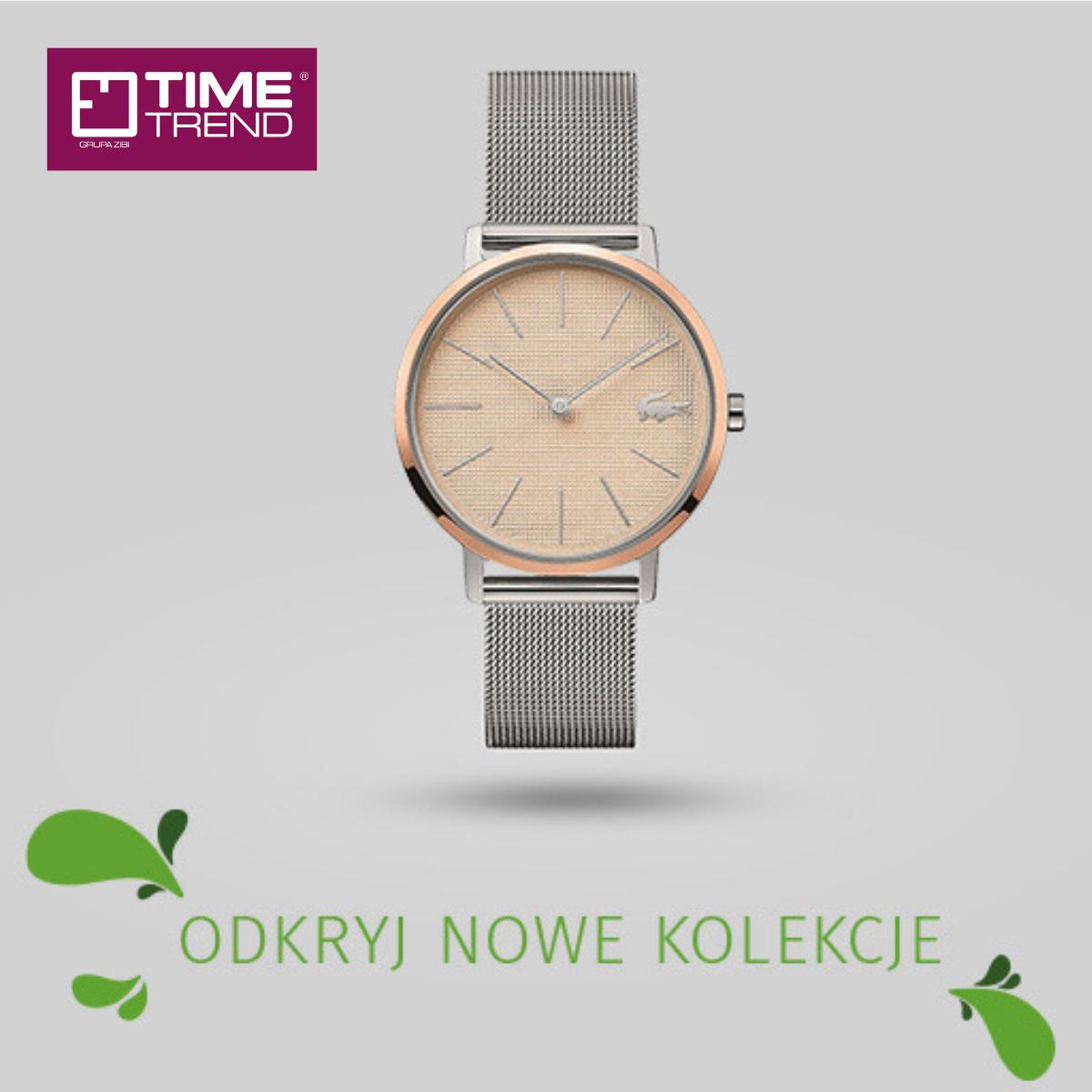 Nowe kolekcje zegarków wsalonie Time Trend