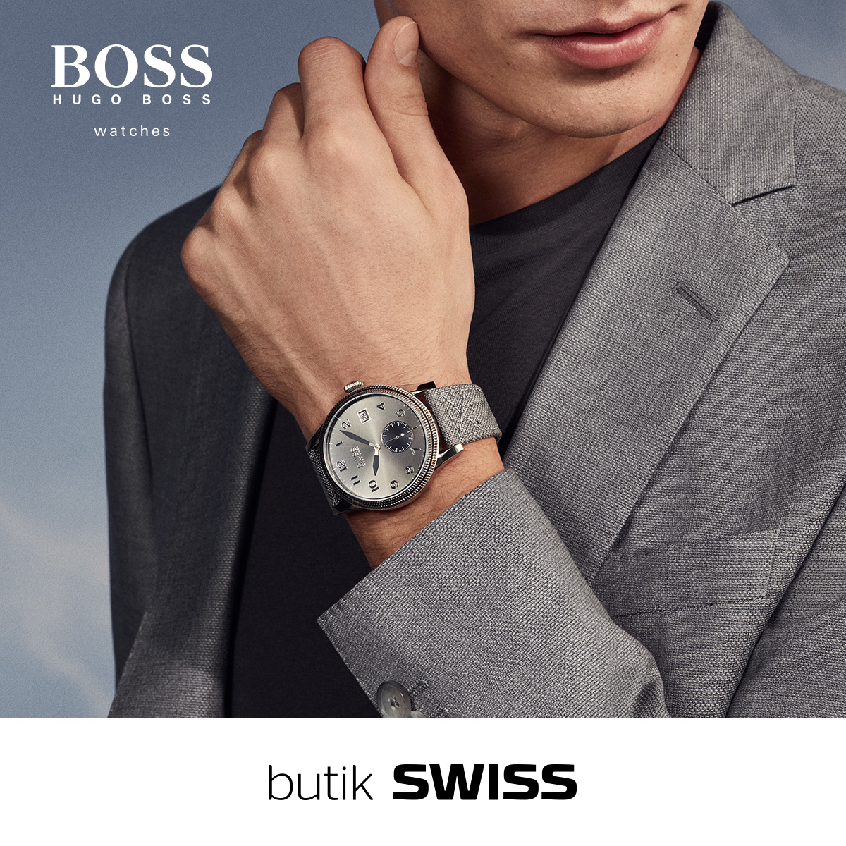 New BOSS watches in Swiss