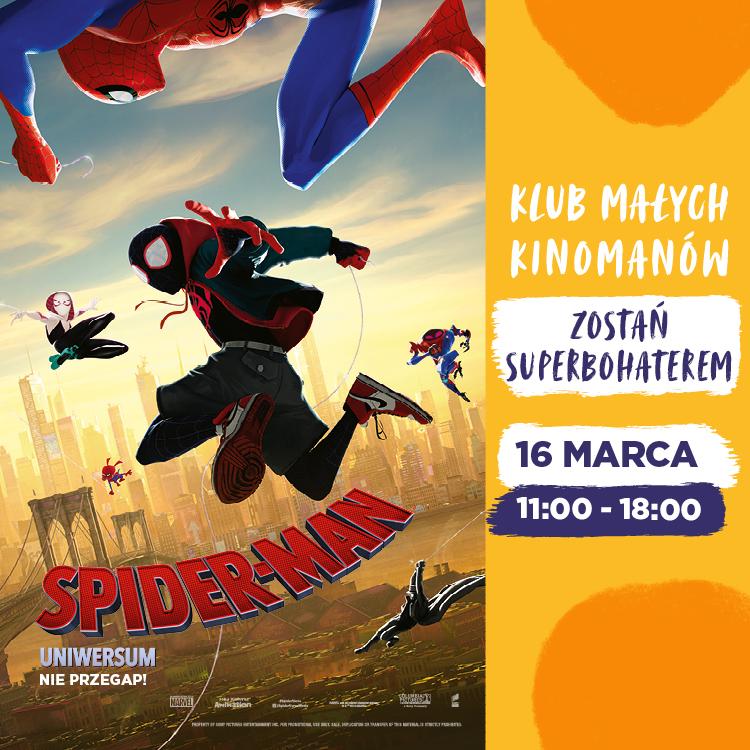 Zostań Superbohaterem ispotkaj się zeSpidermanem!