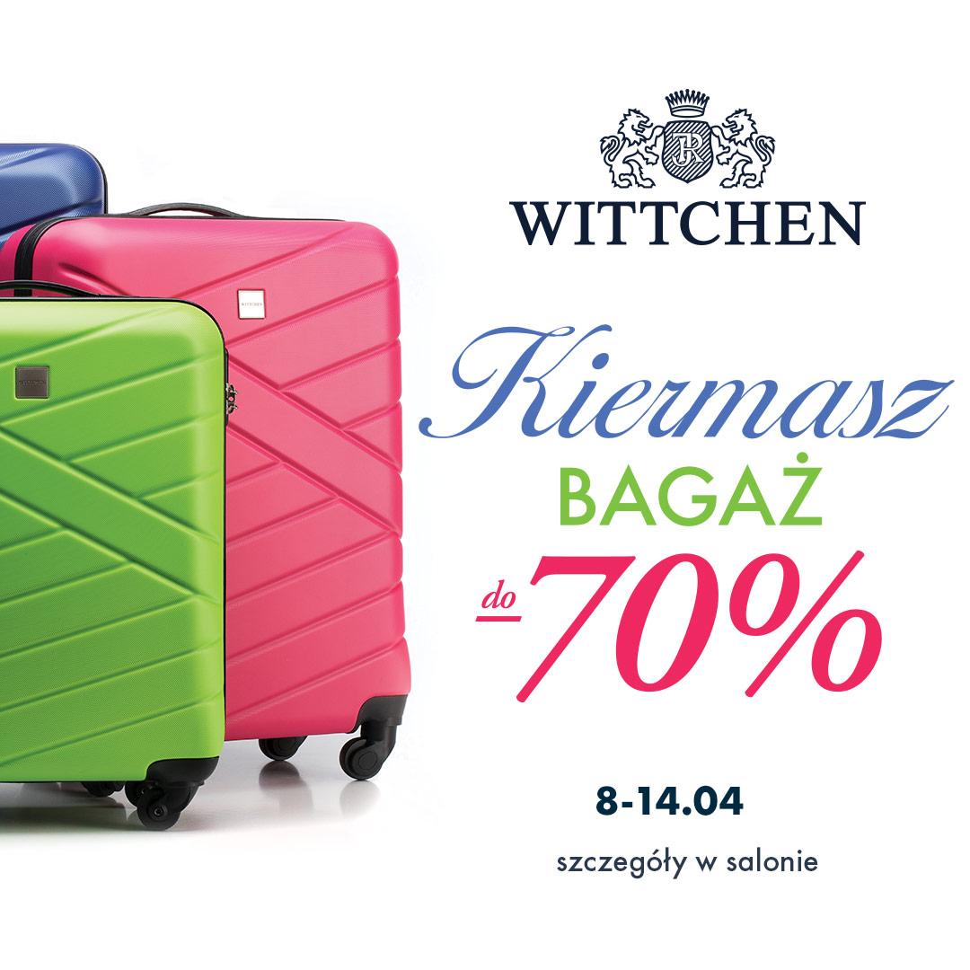 2da786f416e1b Kiermasz bagaż! Walizki już od 99 zł w Wittchen   Libero Katowice