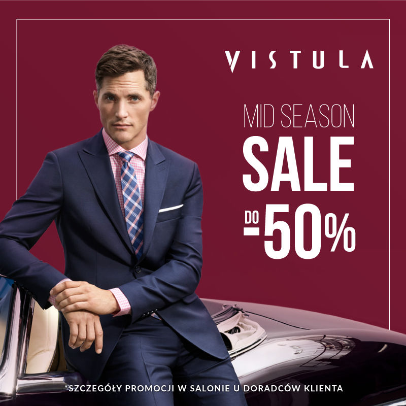 Mid Season Sale w Vistula!