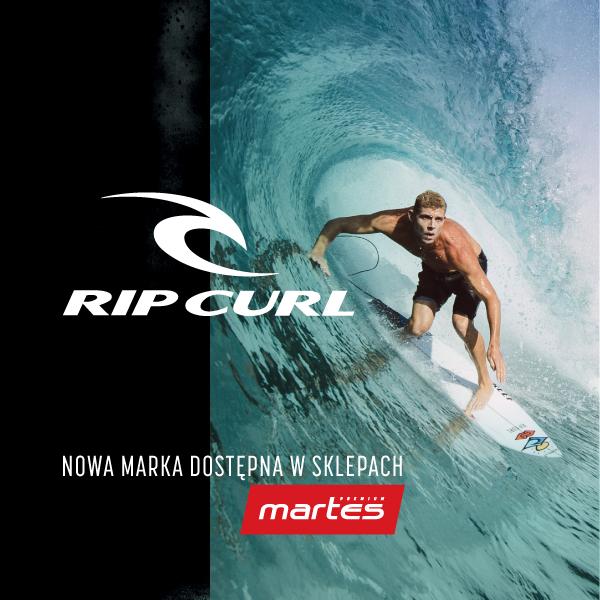 Nowa marka- Rip Curl dostępna wMartes Sport!