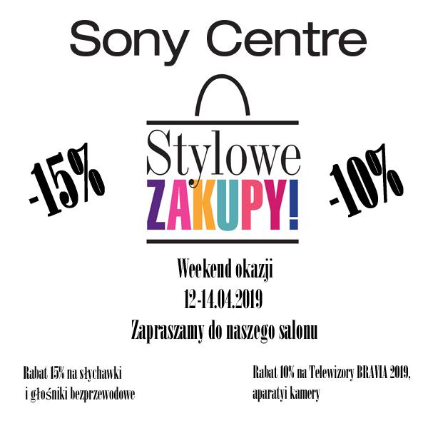 Stylowe Zakupy wSony Centre!