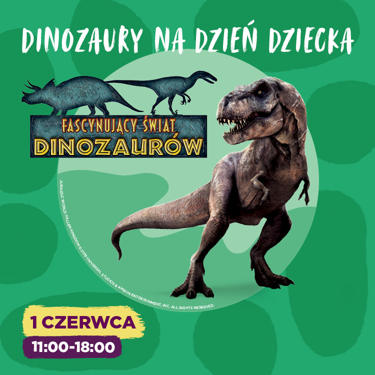 Dinozaury iMoc Atrakcji naDzień Dziecka