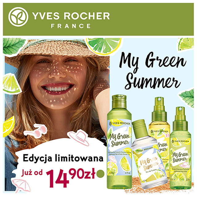 My Green Summer w Yves Rocher!