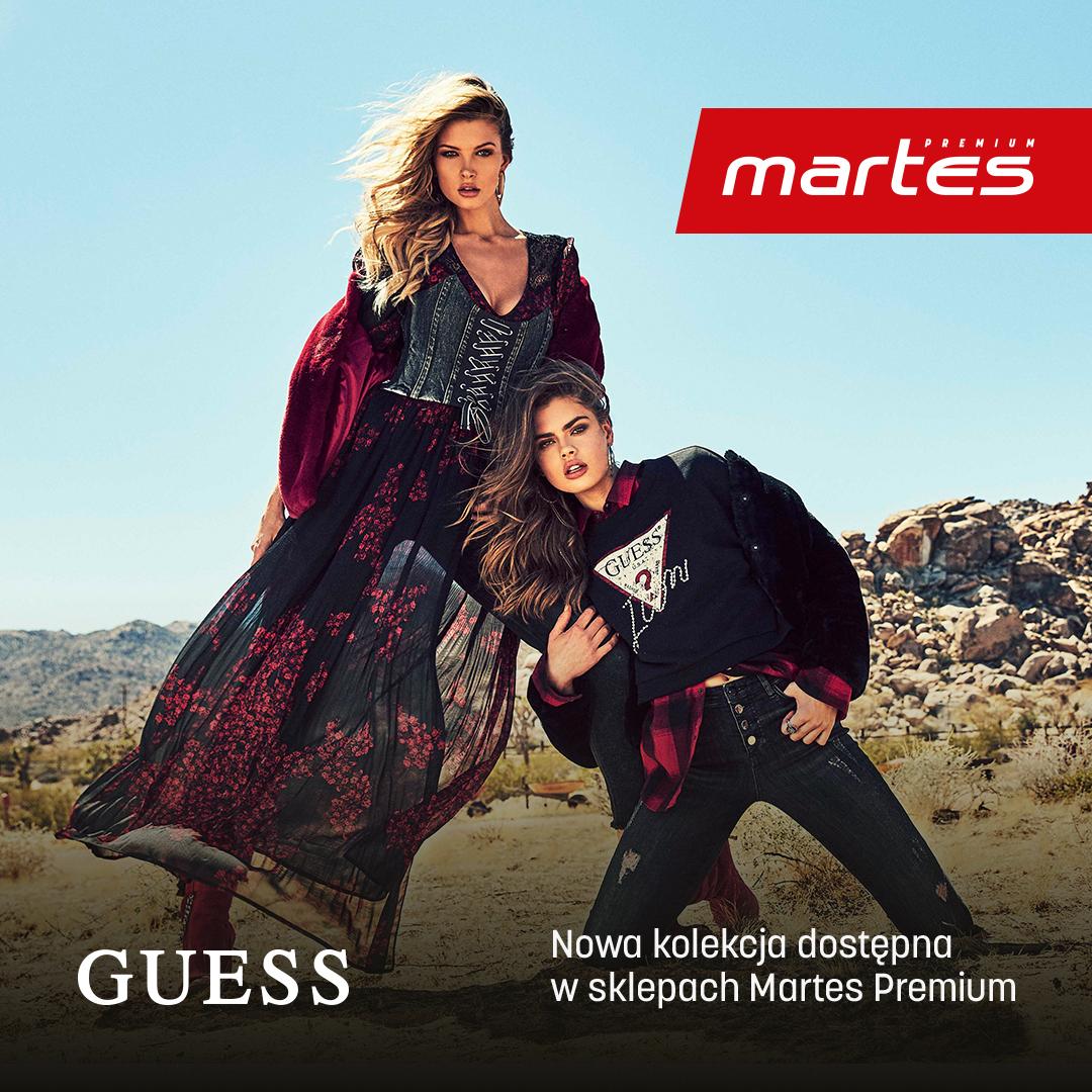 Nowa kolekcja Guess dostępna już teraz wMartes Sport!