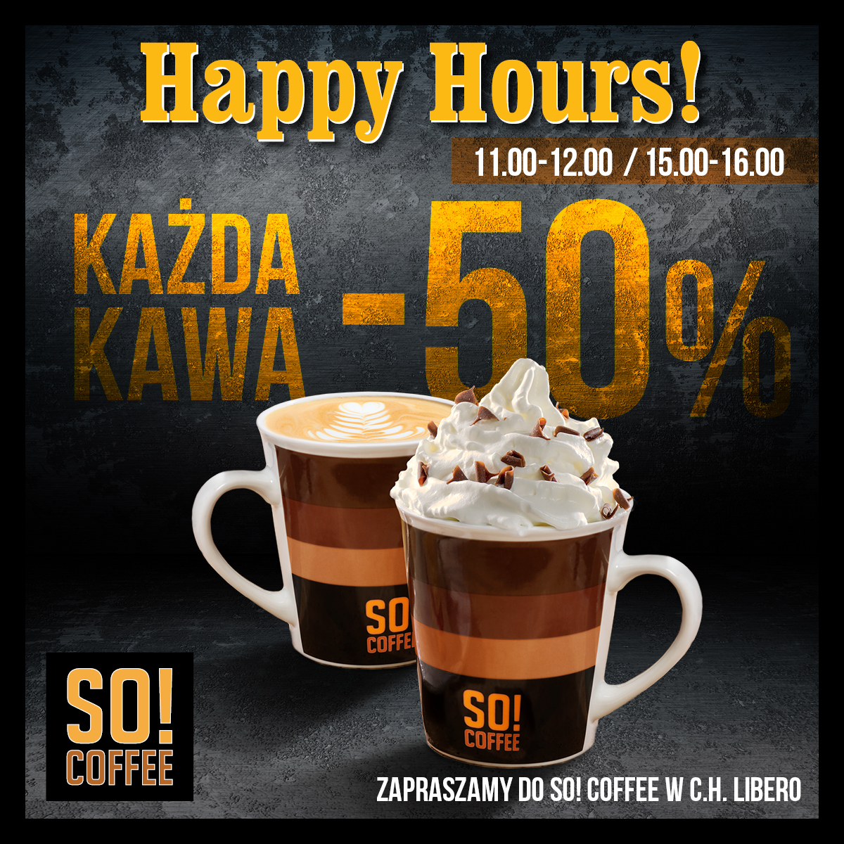Happy Hours w So!Coffe
