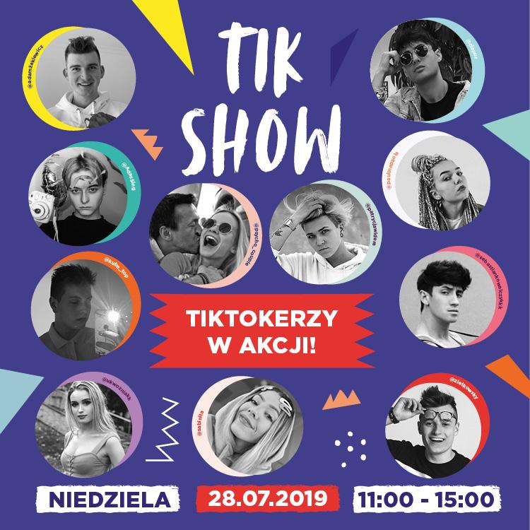 TikShow – TikTokerzy wakcji