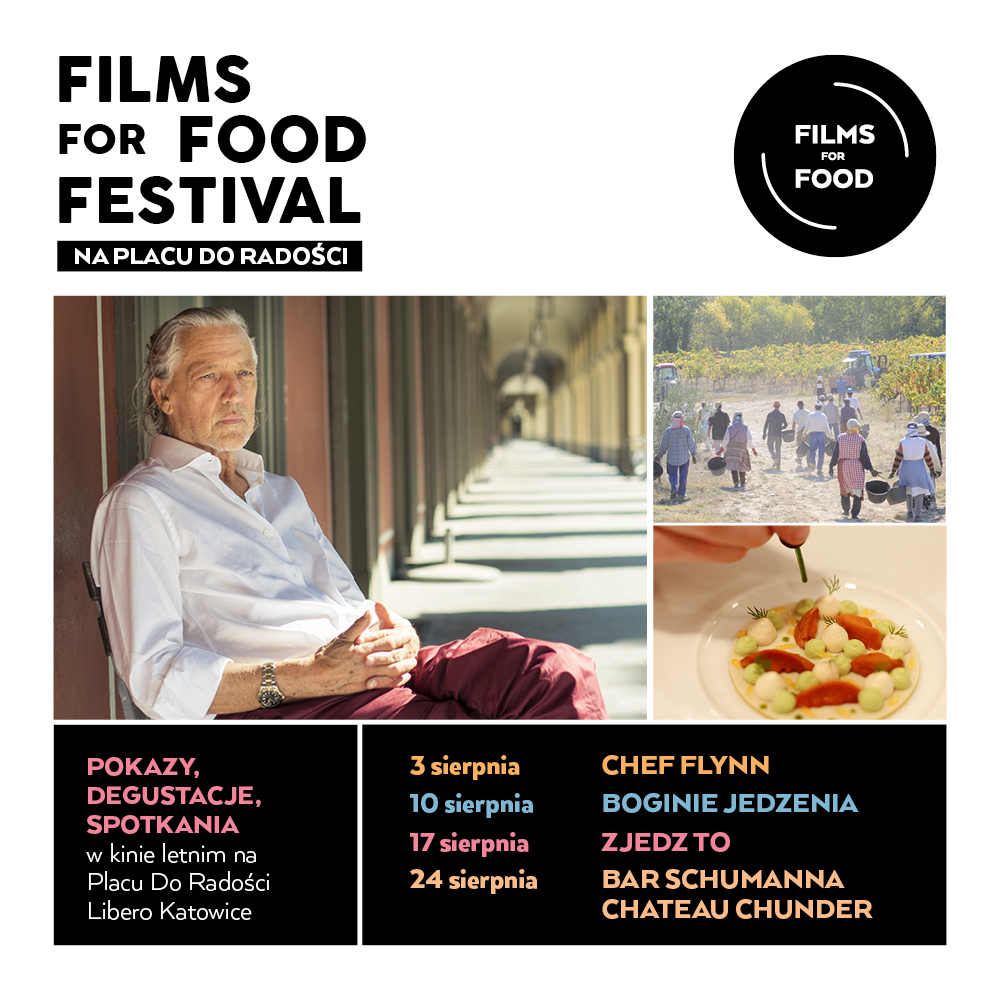 Films For Food Festival for every food fan!