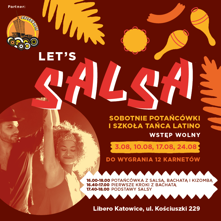 Let's Salsa! Shall we dance on Square to Joy?