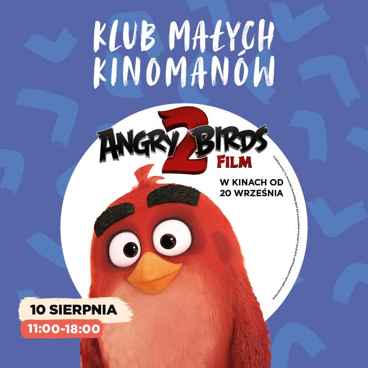 Zwariowane Angry Birds wKlubie Małego Kinomana!