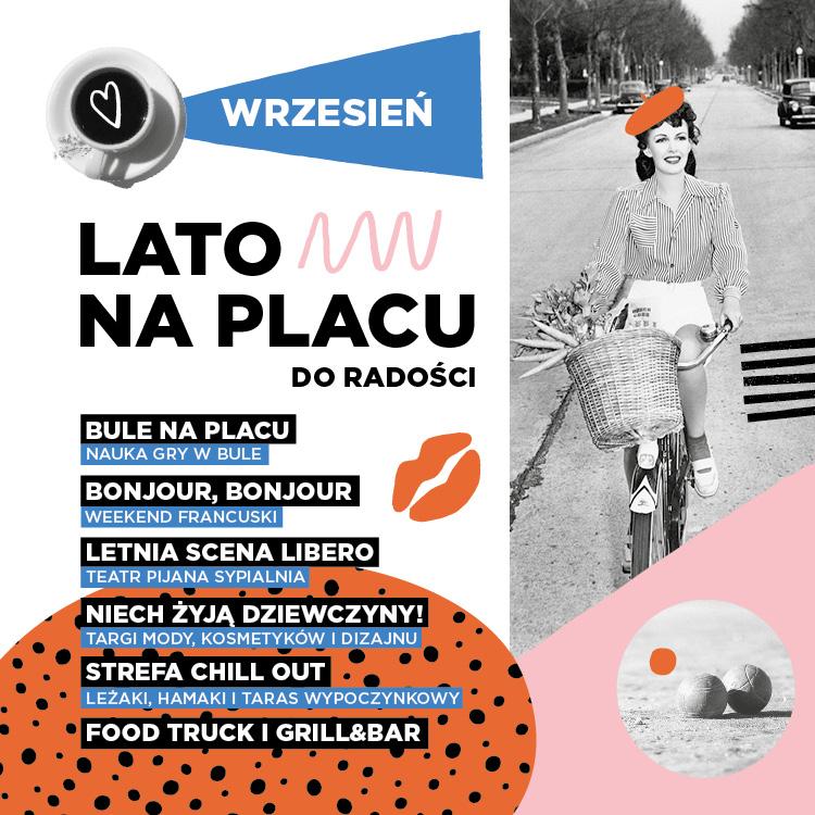 Wrześniowy Rozkład Jazdy- Lato naPlacu doRadości!