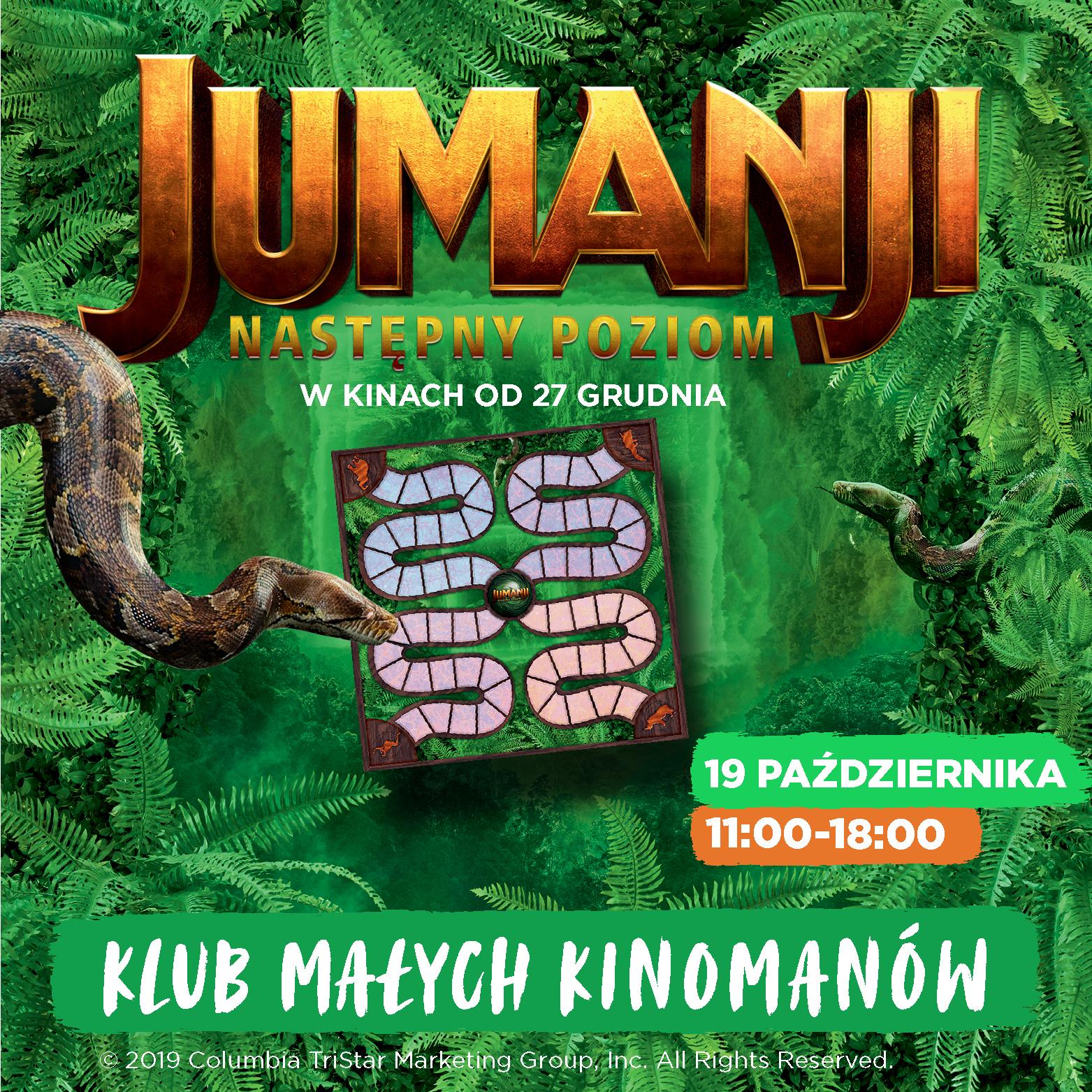Klub Małych Kinomanów wJumanji