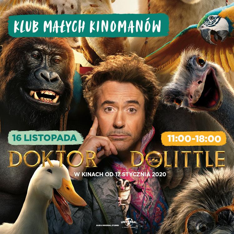 DrDolittle wKlubie Małego Kinomana!