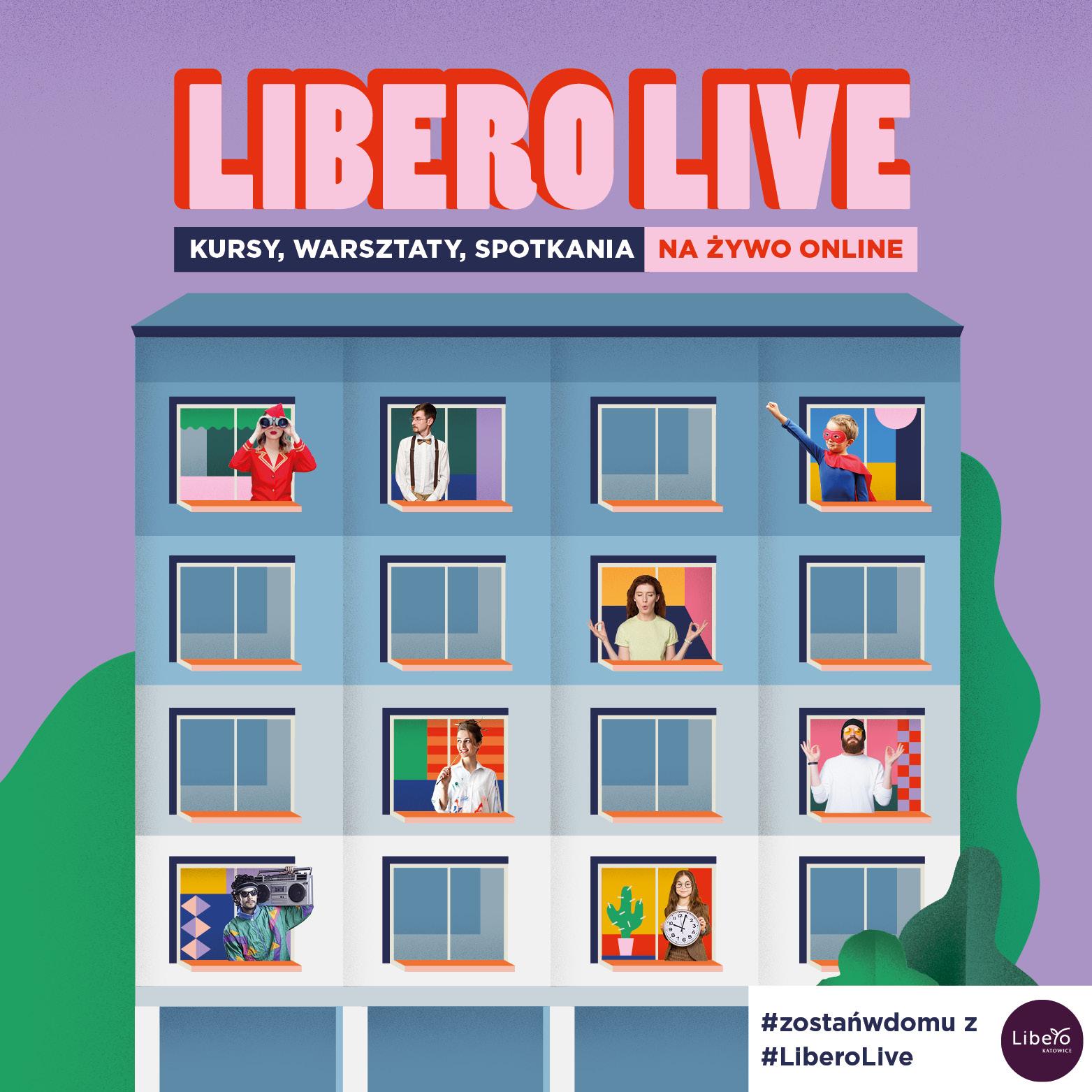 #zostańwdomu zLibero LIVE