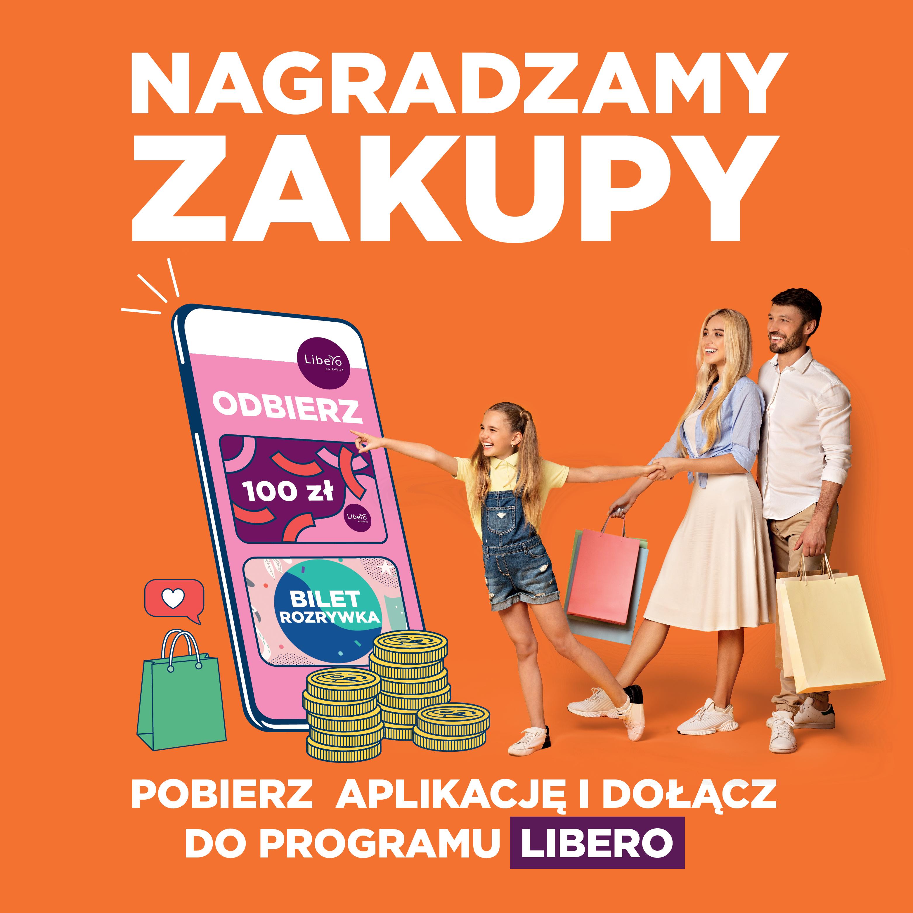 Nagradzamy zakupy! Poznaj program lojalnościowy Libero