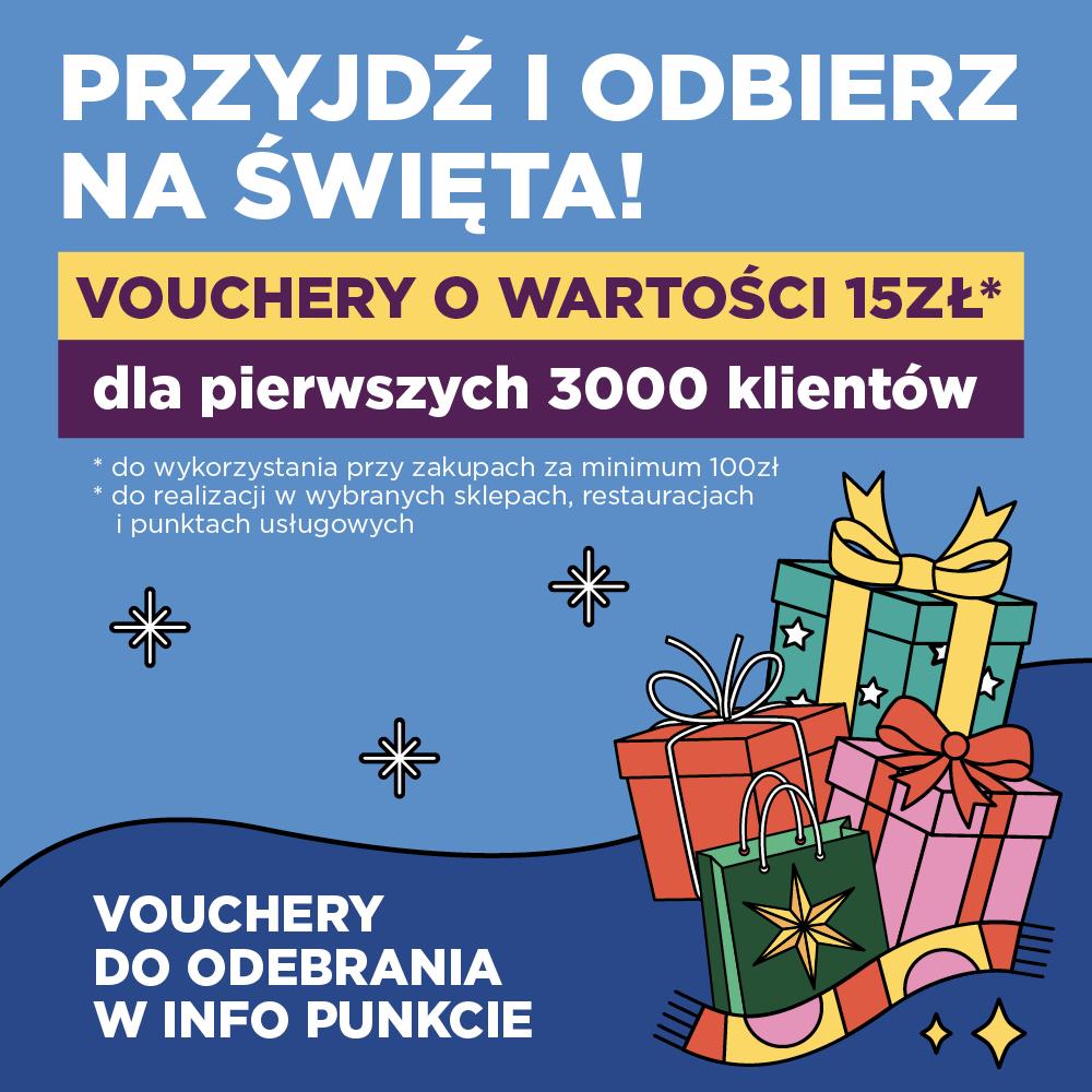 Odbierz voucher naświąteczne zakupy!