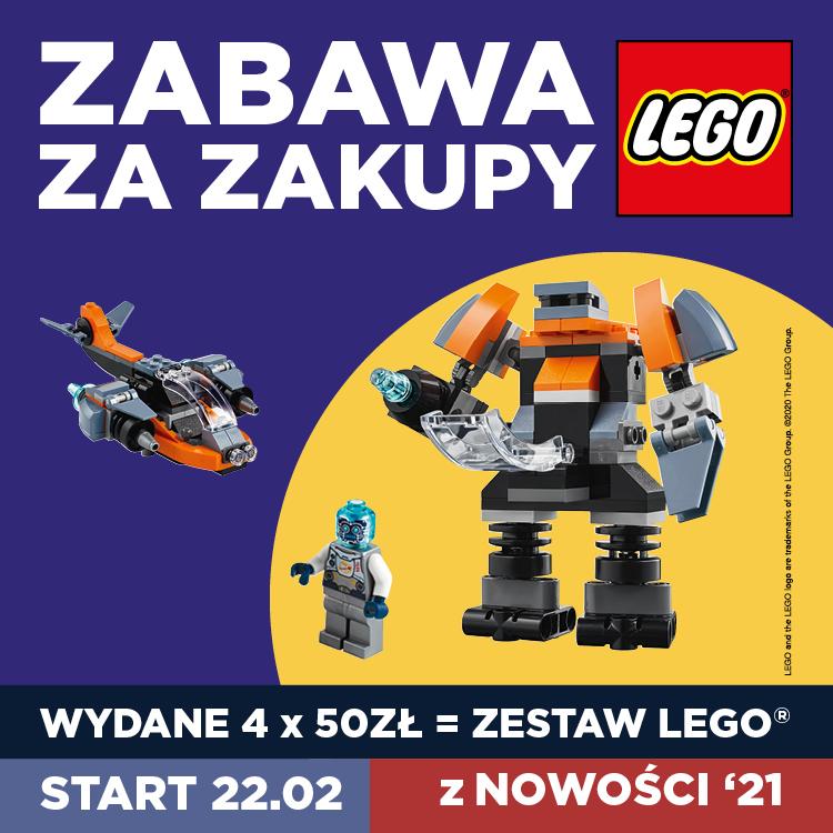 Zestawy LEGO® zazakupy wLIBERO!