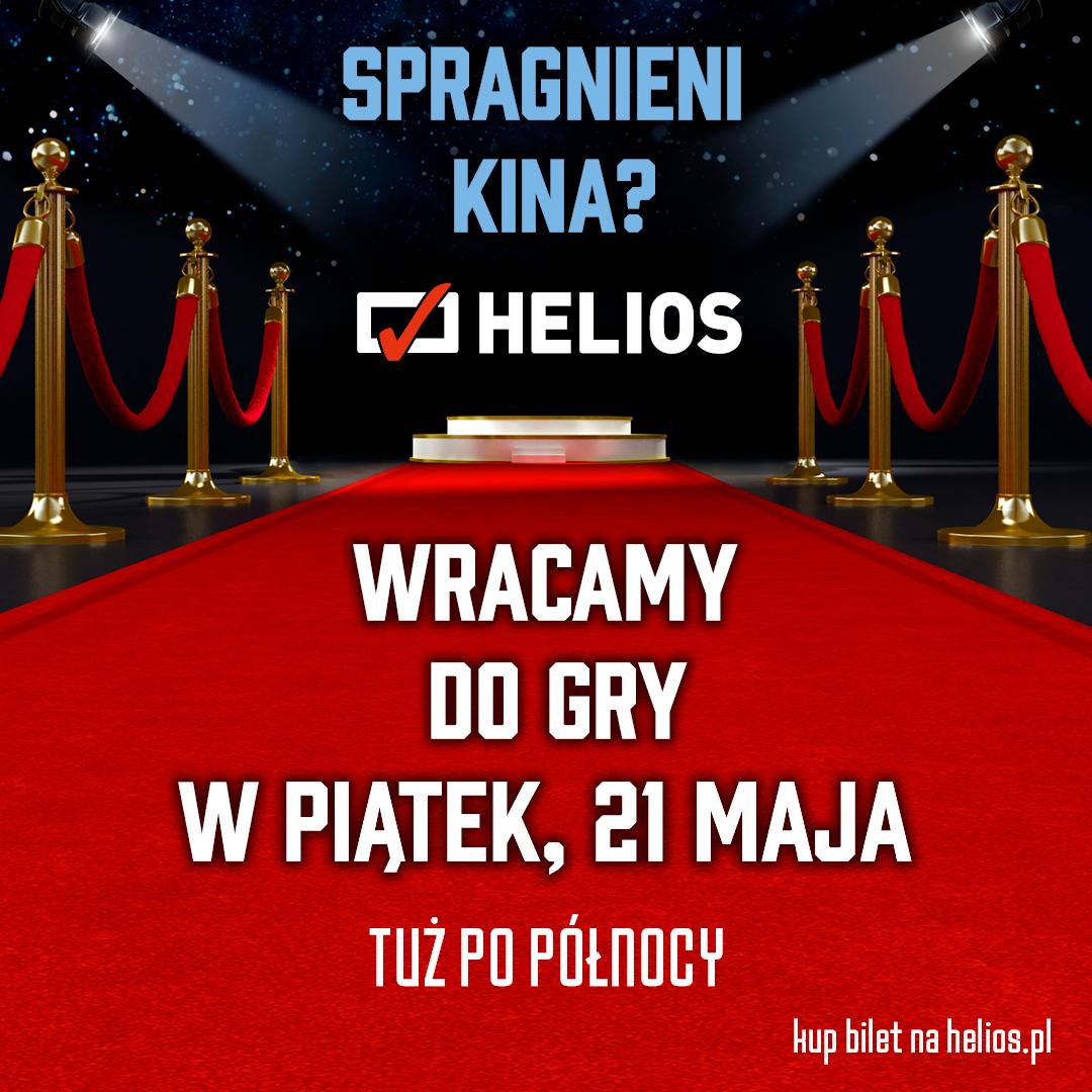 Wraca Kino Helios!