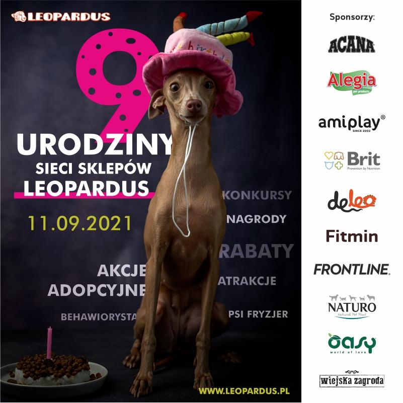 9 urodziny sklepu LEOPARDUS